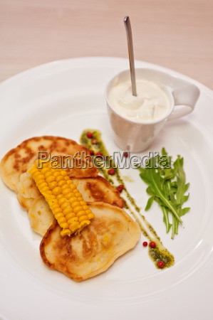 corn, pancakes - 13414614