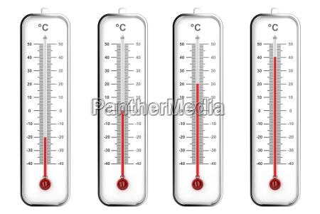termometri interni in scala celsius