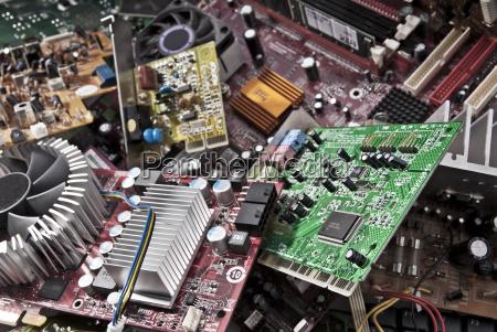 elettronica circuito stampato tutela ambientale garza