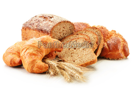 composizione con prodotti da forno isolato