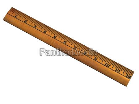 misura righello metro centimetro prendere la