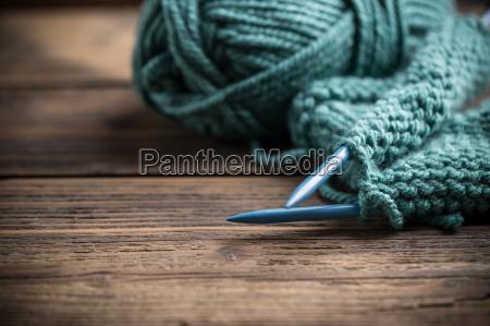 lana a maglia