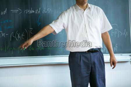 insegnante professore maestro educazione lavagna universita