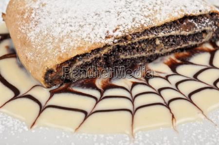 pancake con semi di papavero