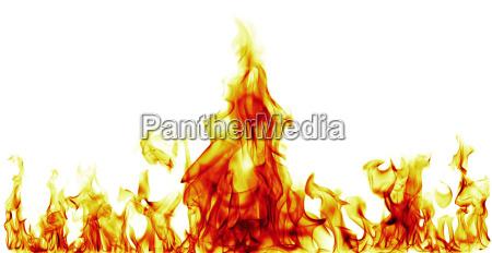 pericolo caldo calore fuoco incendio fiamma