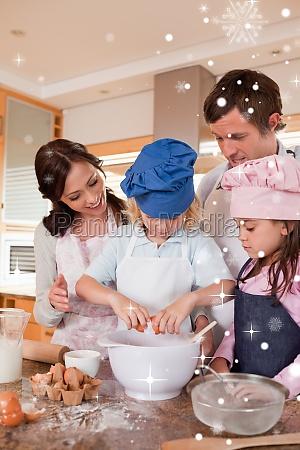 donna casa costruzione risata sorrisi cibo