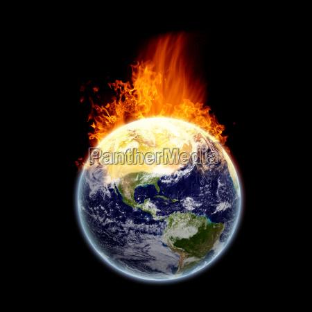 terra in fiamme texture di