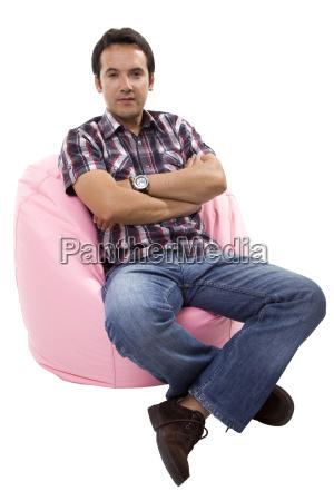 tempo libero rilasciato rilassato appartato divano