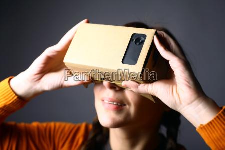 telefono tecnologia cellulare realta cartone virtuale