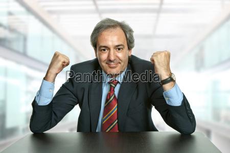 ufficio scrivania vincitore affare affari lavoro