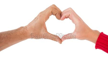 donna mano mani rilasciato romantico appartato