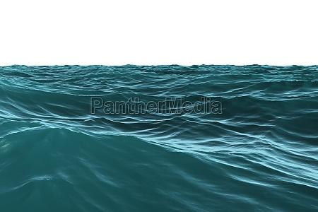blu onde illustrazione digitale incerto acqua