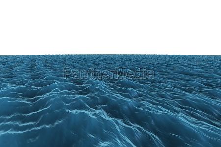 grafica generata digitalmente rough blue ocean
