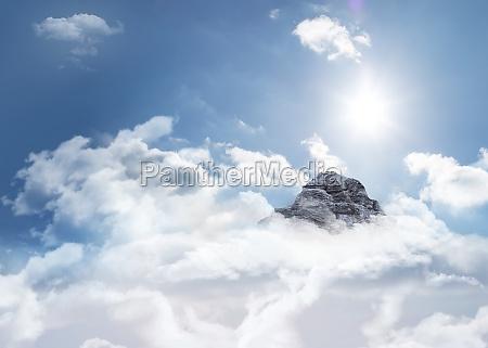 blu ambiente luce del sole punta