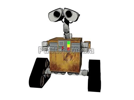 curiosita mezzo cingolato automa robot macchina