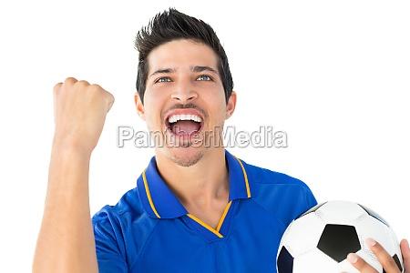 giocatore di calcio atletico tifo