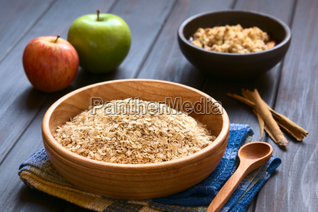 raw rolled oats