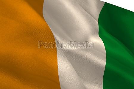bandiera digitale striscione identita costa davorio