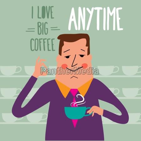 caffe persone popolare uomo umano bicchiere