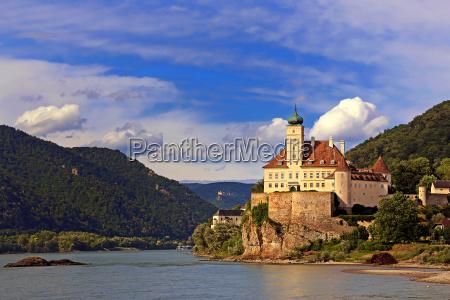 castello di schoenbuehel sul danubio
