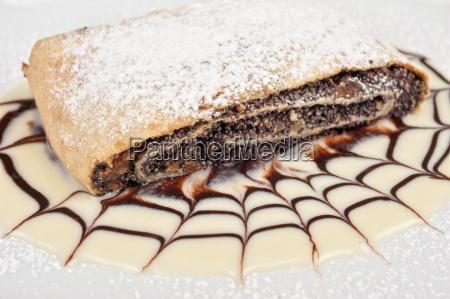 pancake, con, semi, di, papavero - 13901641