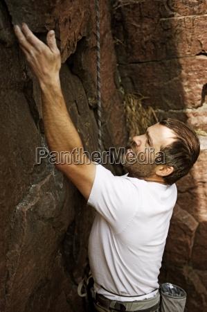 un uomo sport scala al palisades