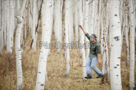 pericolo uomini uomo albero rischio stati