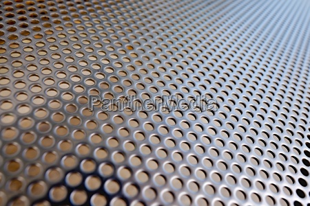 acciaio metallo fori buco modello cartamodello