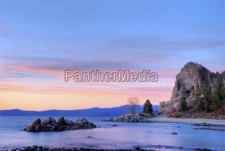 pietra sasso tramonto stati uniti damerica