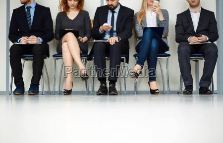 in attesa di intervista