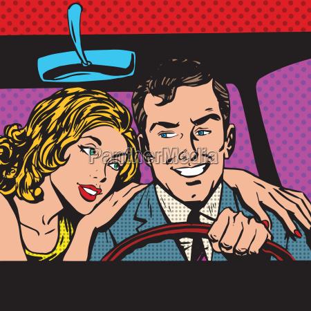 pop art fumetti stile retro mezzetinte