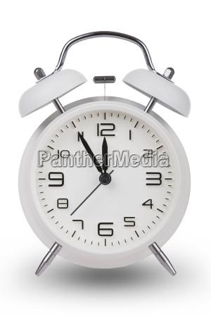 orologio data sveglia classico