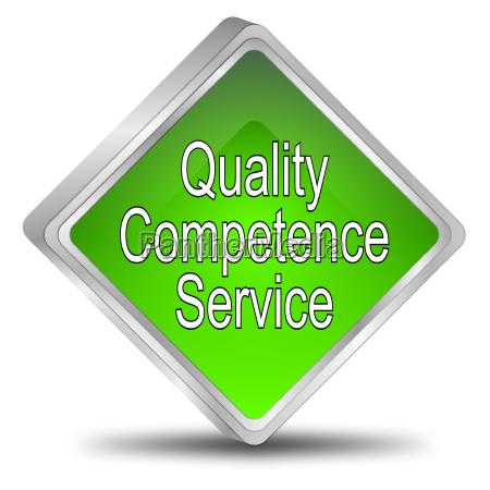 button quality competenza servizio