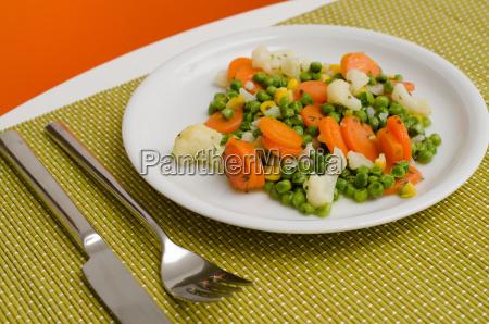 oggetto verdura visione dallalto supplemento cucina