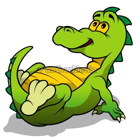 lucertola sauri drago dinosauro fumetto cartone