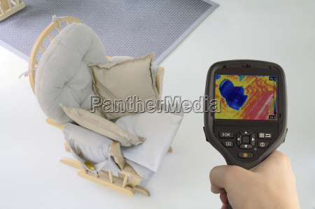 underfloor heating thermovision