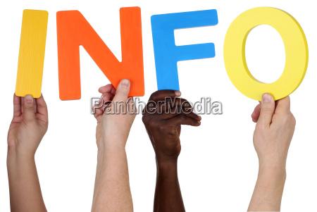 info persone popolare uomo umano mano