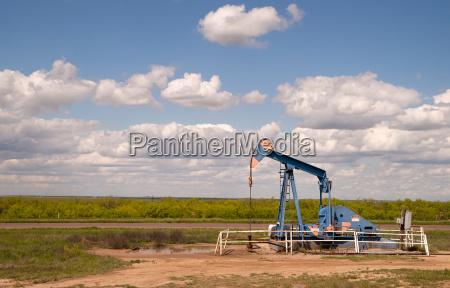 macchina texas oil pump jack fracking