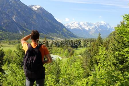 montagne con zugspitze