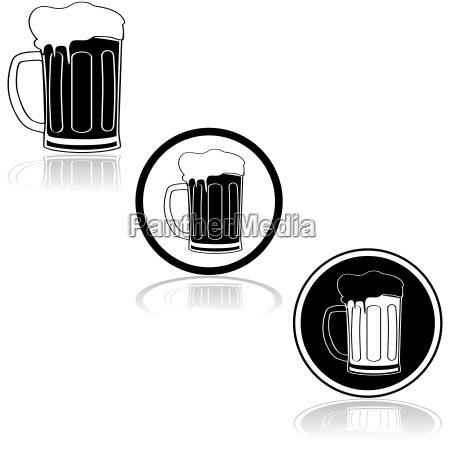 taverna bar bicchiere bere grafico nero