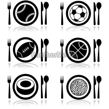 ristorante perdere cibo sport dello sport