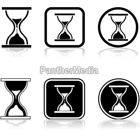 icona di sandglass