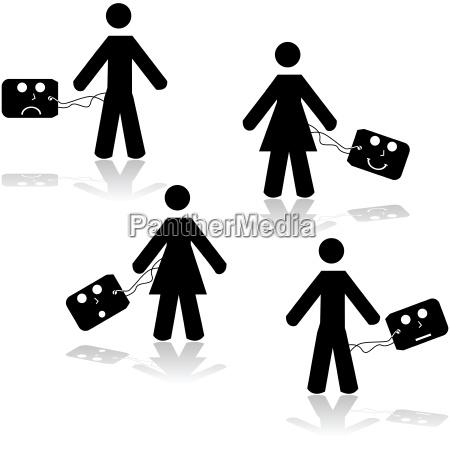 persone popolare uomo umano spettacolo socialmente