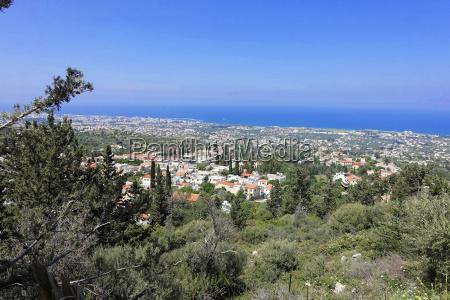 sguardo vista cipro acqua salata mare