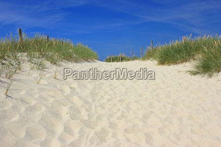 beach in brittany france