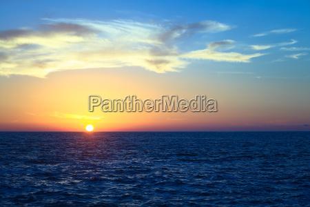 tramonto cile costa pacifico acqua salata