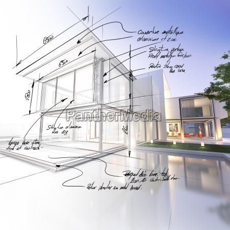 casa costruzione progettazione concetto modello progetto