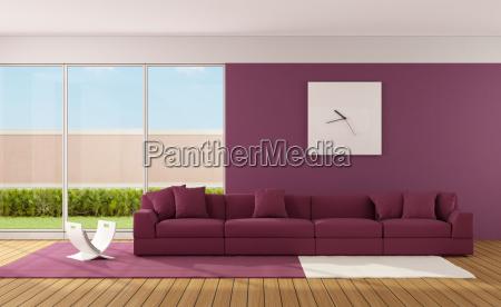 minimalista soggiorno