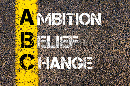 business acronym abc as ambition belief