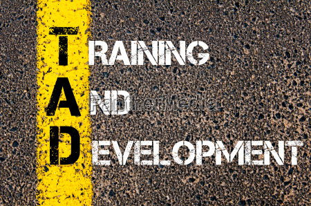 business acronym tad as training and